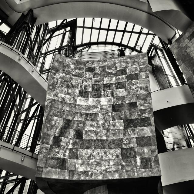 """Interior of the Guggenheim"" stock image"