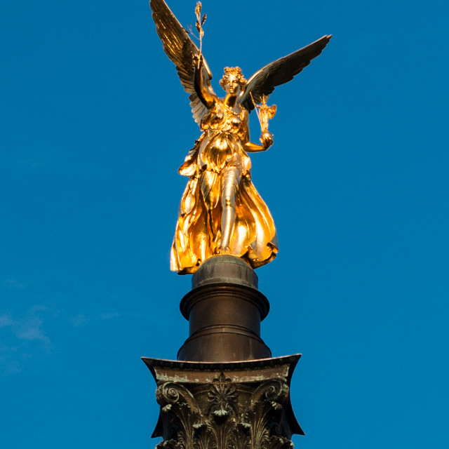 """Friedensengel - Angel of Peace"" stock image"