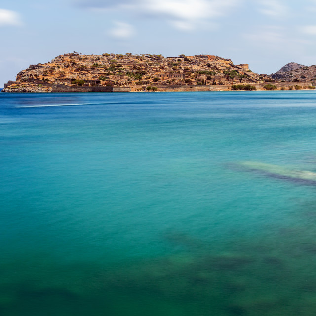 """Spinalonga Island Crete Greece"" stock image"