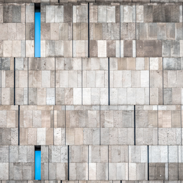 """Background of modern architecture concrete wall"" stock image"