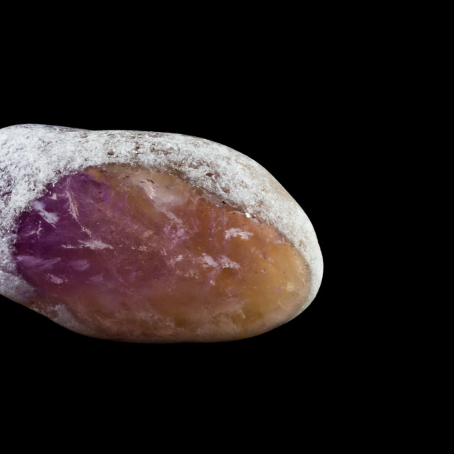 """Amethyst dragon's Egg"" stock image"