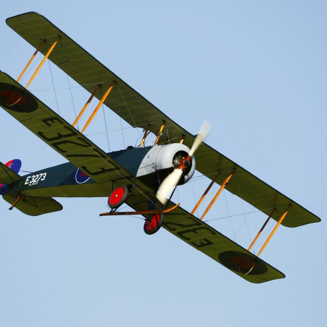 """Avro 504k E3273"" stock image"