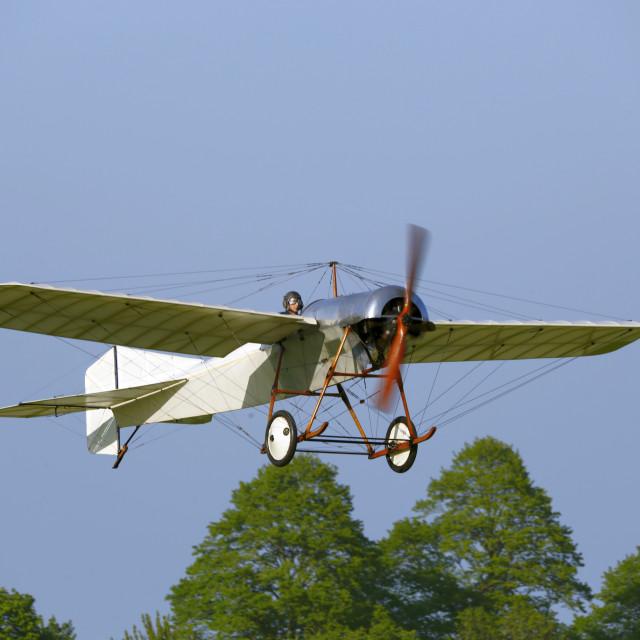 """Blackburn 1912 monoplane"" stock image"