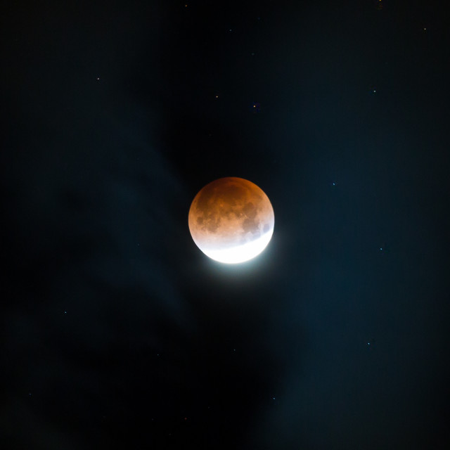 """Blood Moon"" stock image"