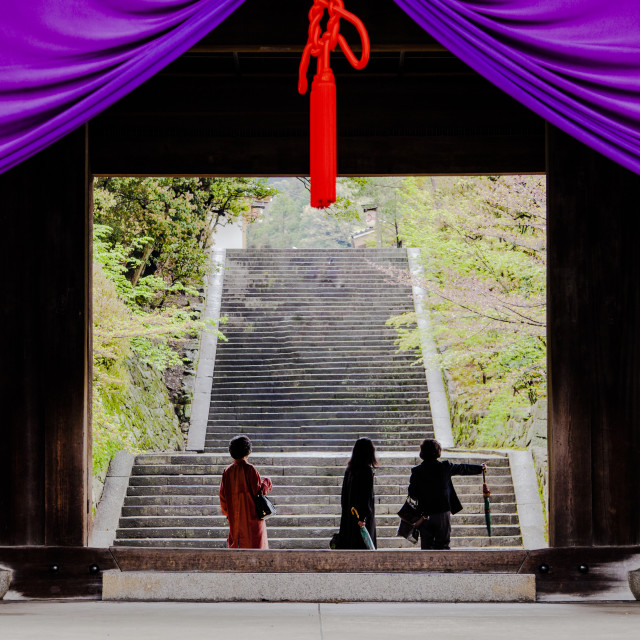 """""""Chionin Temple"""" stock image"""