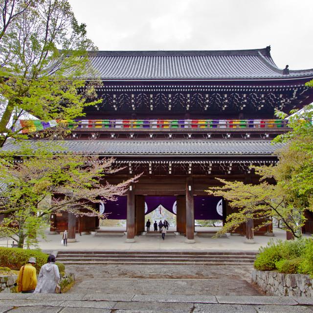 """Sanmon Gate"" stock image"