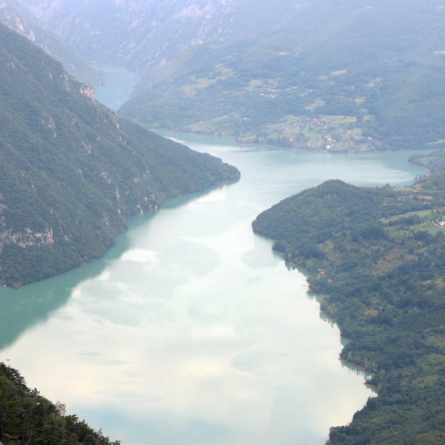 """River canyon mountain nature landscape"" stock image"