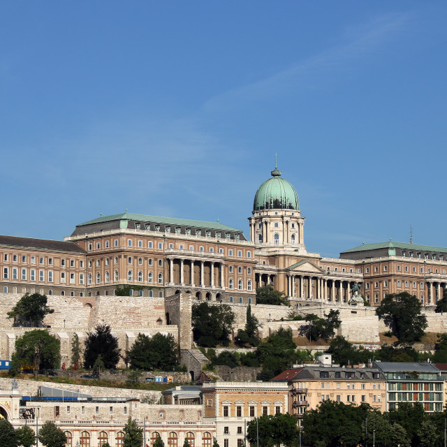 """Royal castle Budapest Hungary"" stock image"