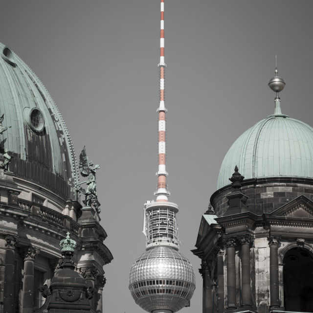 """Berlin famous places"" stock image"