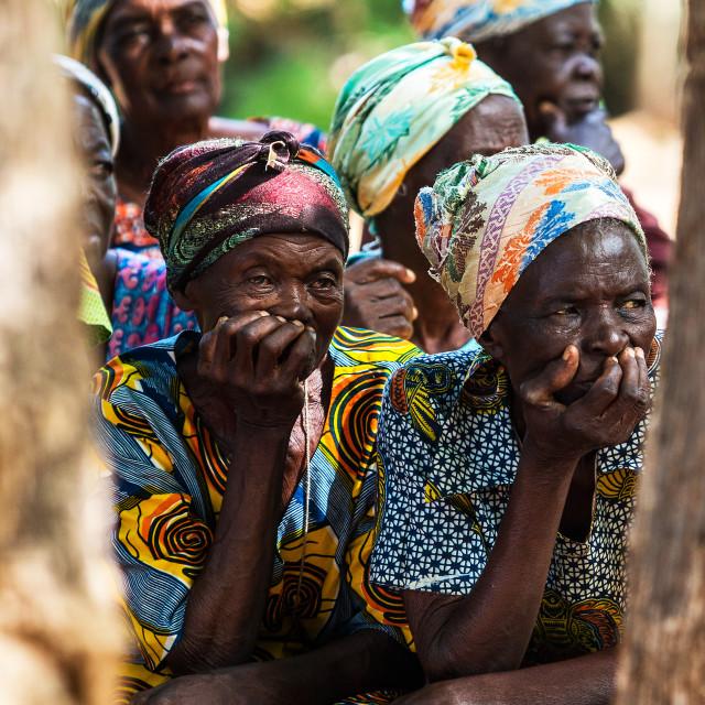 """Ghana Women Portrait"" stock image"