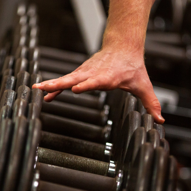 """""""Weights"""" stock image"""