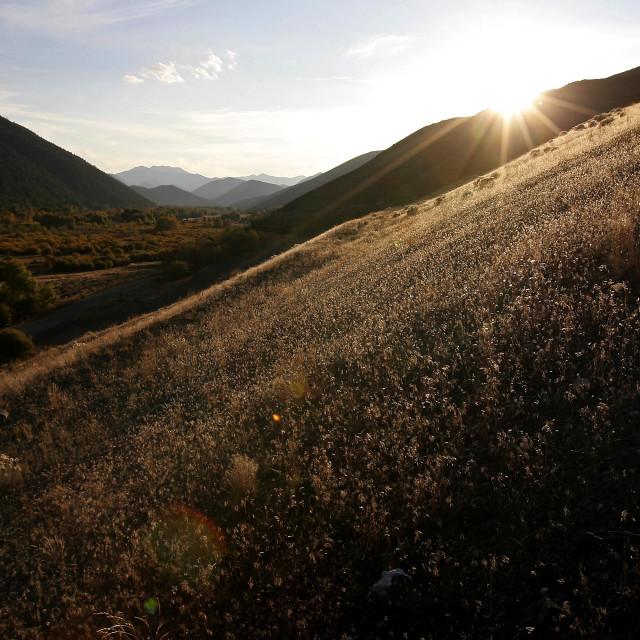 """""""Idaho valley"""" stock image"""
