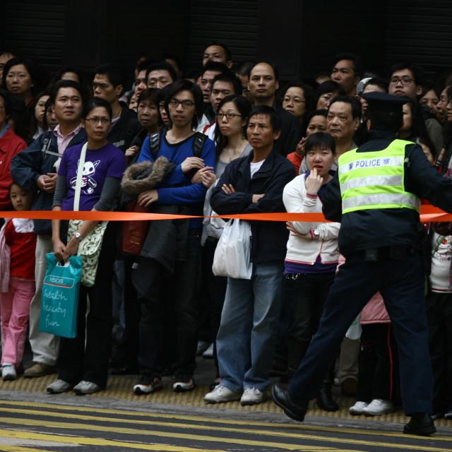 """""""Hong Kong Protest"""" stock image"""