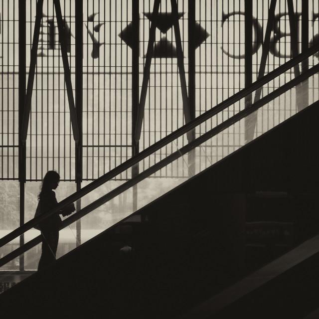 """Up Up and Aways: HSBC - Central, Hong Kong"" stock image"