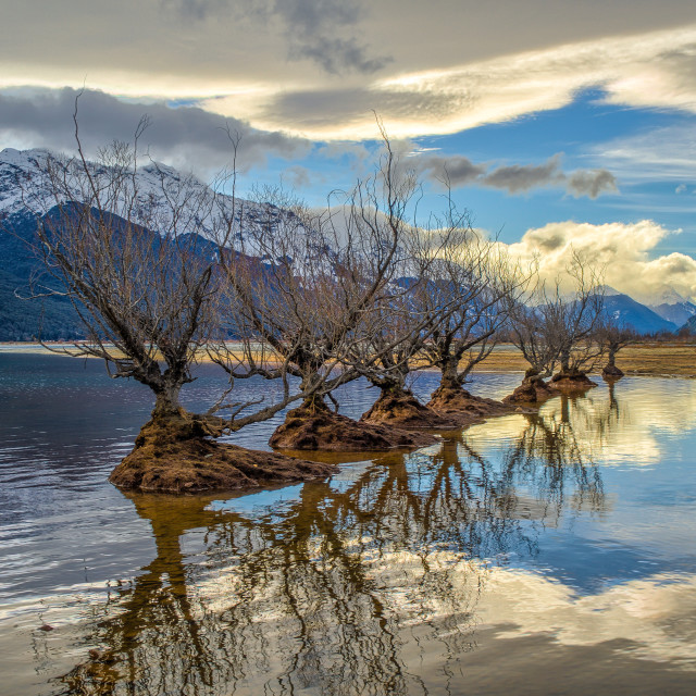 """Glenorchy Sentinels"" stock image"