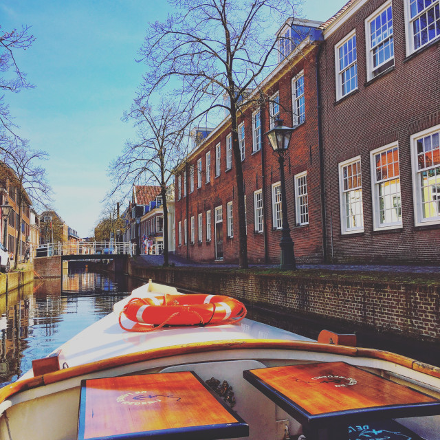 """""""Canal trip"""" stock image"""