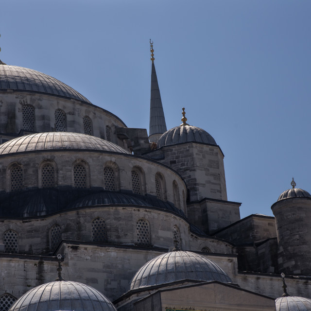 """The Blue Mosque- Istanbul"" stock image"