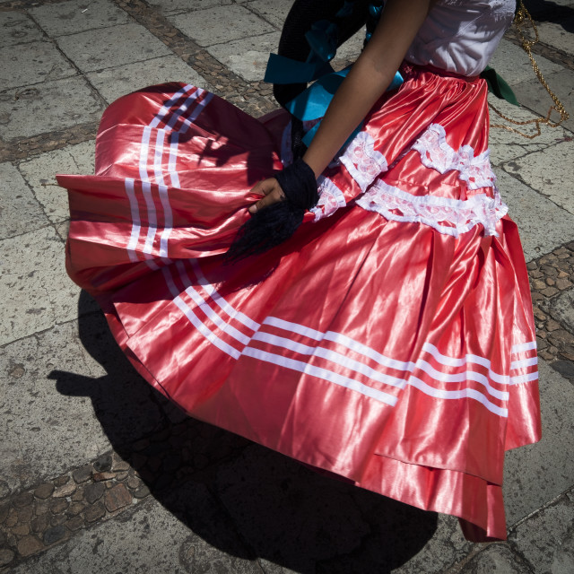 """traditional dance in Oaxaca"" stock image"