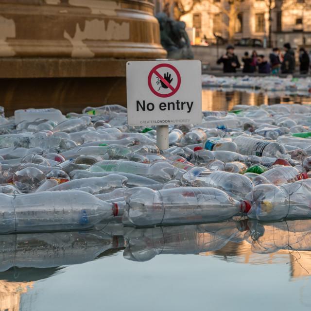 """Plastic Everywhere"" stock image"