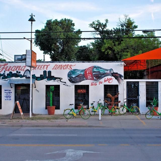 """Tacos in Dallas"" stock image"