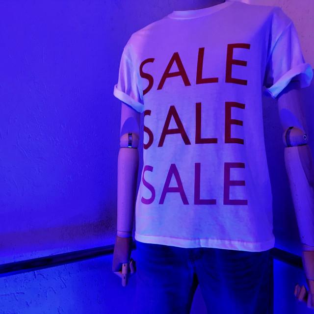 """""""SALE SALE SALE"""" stock image"""