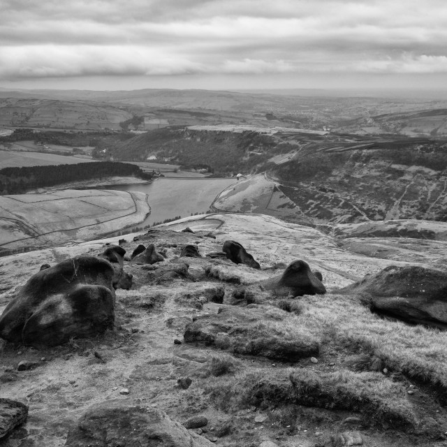 """Kinder Scout"" stock image"