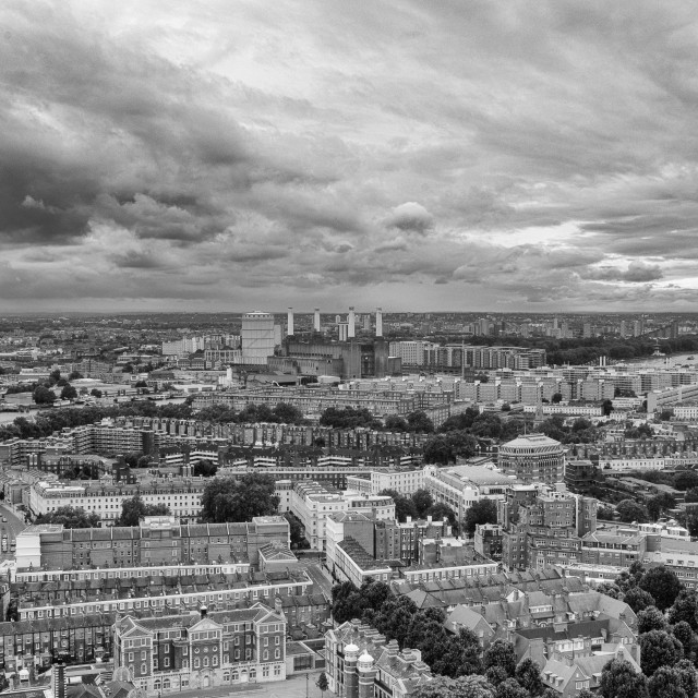 """A View over London"" stock image"