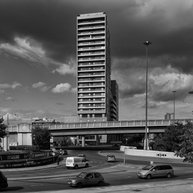 """High Rise in East London"" stock image"
