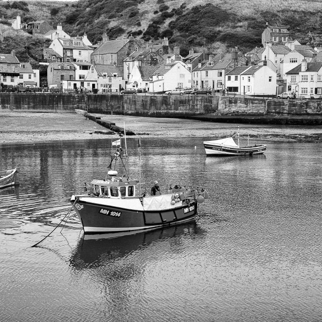 """Staithes"" stock image"