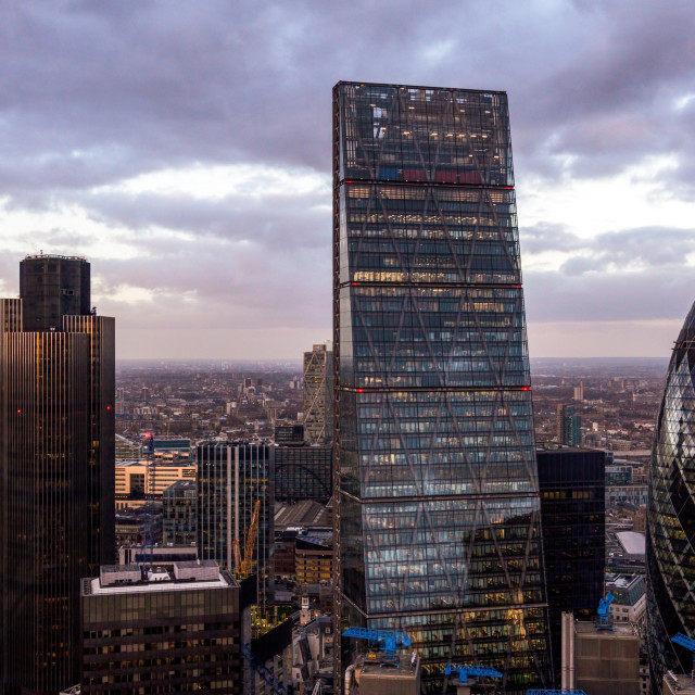 """London Skyscrapers"" stock image"