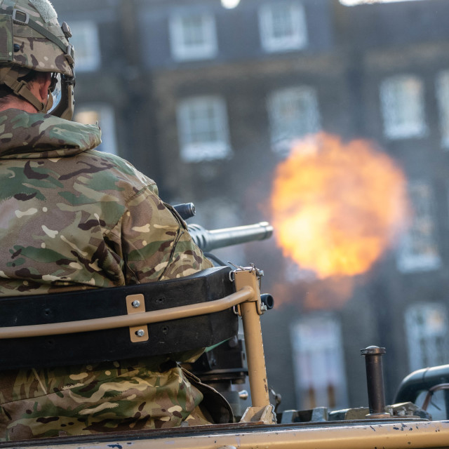 """""""Honourable Artillery Company Army open everning 2018"""" stock image"""