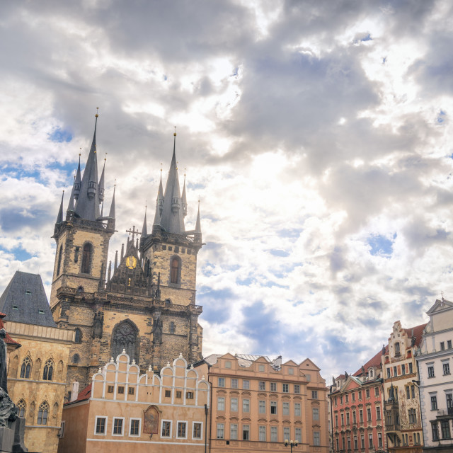 """""""Buildings from Old Town of Prague City"""" stock image"""