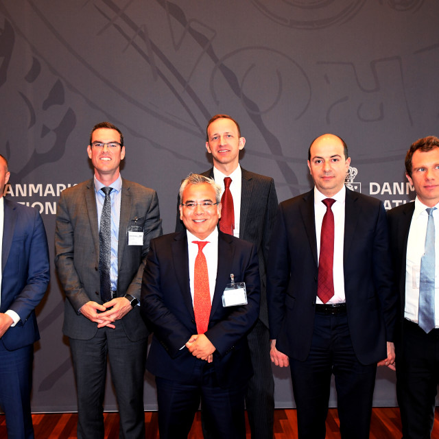 """""""MIGUEL A.SEGOVIANO_IMF TEAM VISITS DENMARK"""" stock image"""