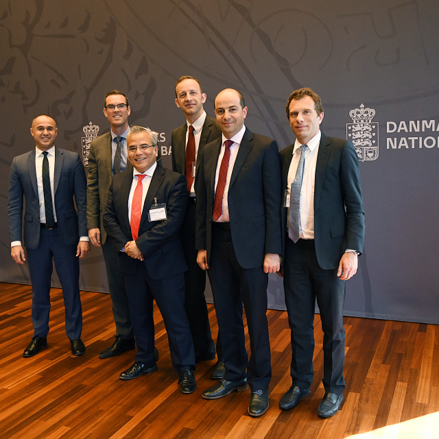 """MIGUEL A.SEGOVIANO_IMF TEAM VISITS DENMARK"" stock image"