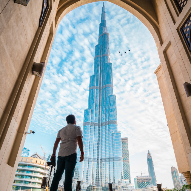 """Life in Dubai"" stock image"