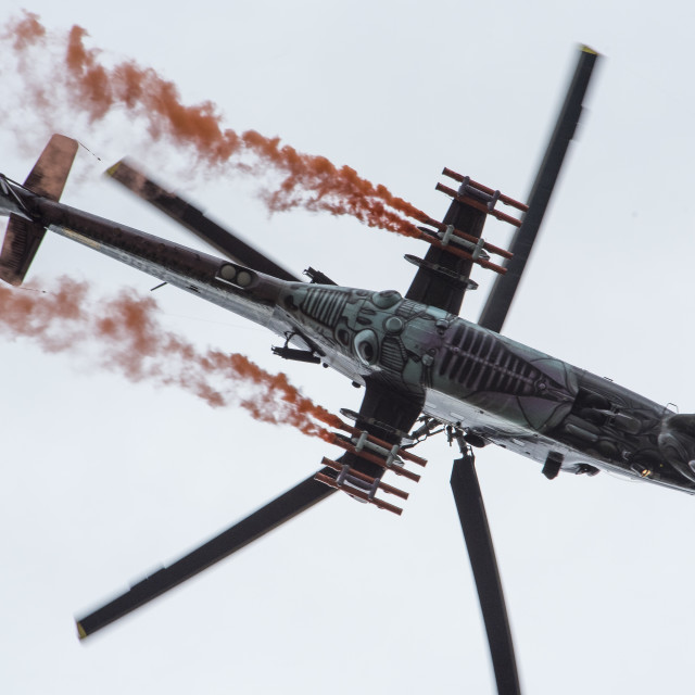 """Russian M1-24 Helicopter (II)"" stock image"