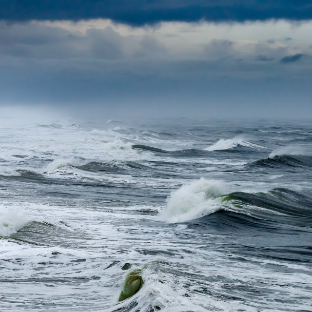 """Turbulent Sea"" stock image"