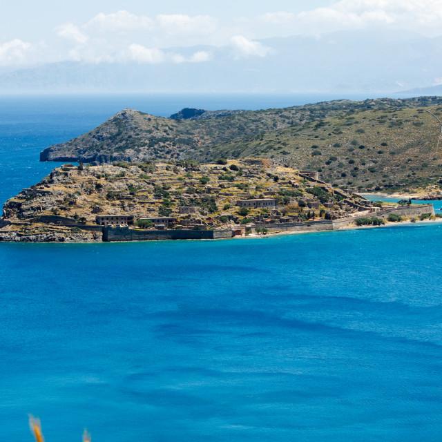 """Spinalonga Island Crete"" stock image"