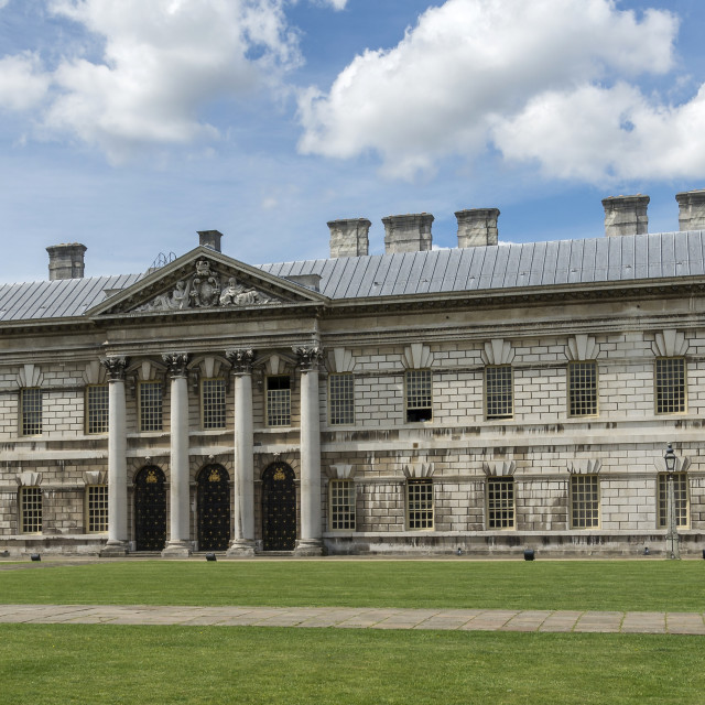 """Greenwich Naval College (IV)"" stock image"