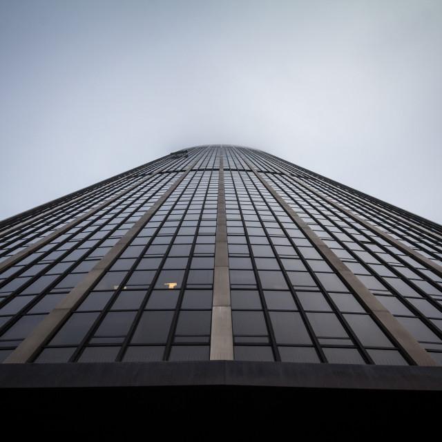 """PARIS, FRANCE - DECEMBER 19, 2017: Montparnasse Tower (Tour Montparnasse)..."" stock image"