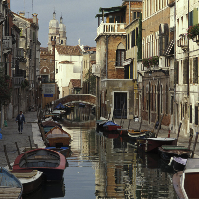 """Canal, Venice, Italy"" stock image"