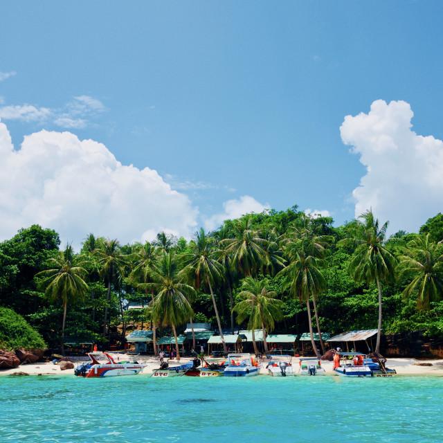 """PhuQuoc island"" stock image"