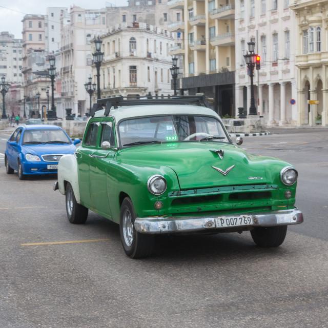 """Cuba Vintage Car"" stock image"