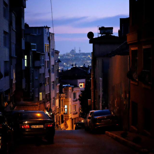 """Istanbul streets"" stock image"