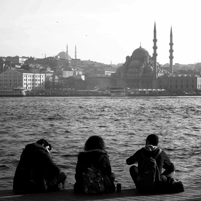 """Istanbul people"" stock image"