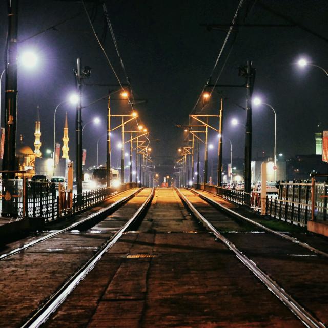 """""""Istanbul Railway"""" stock image"""