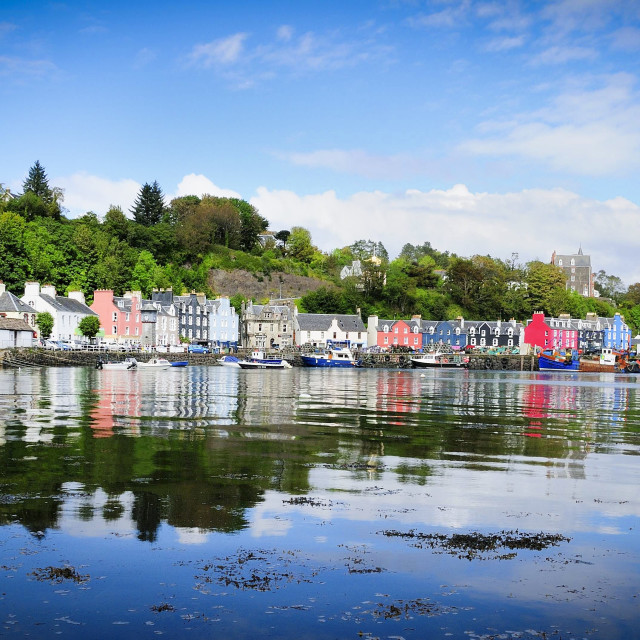 """Tobermory waterfront"" stock image"