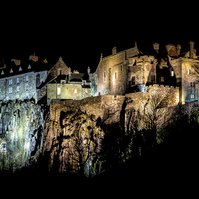 """Stirling Castle"" stock image"