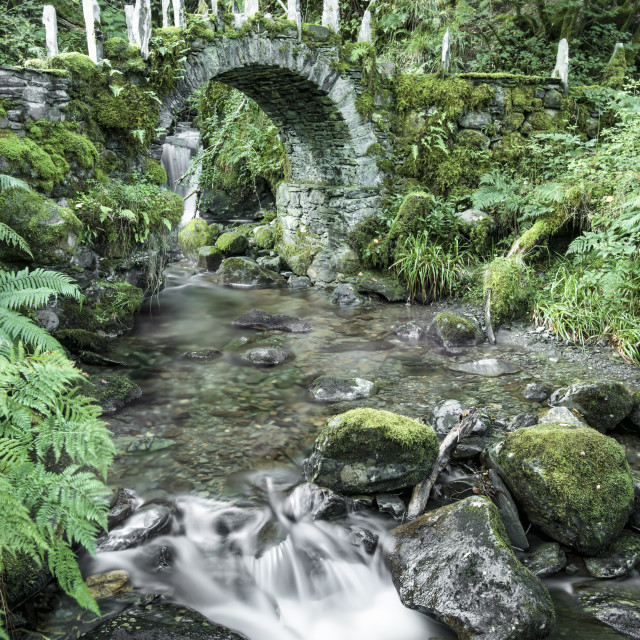 """The Fairy Bridge"" stock image"
