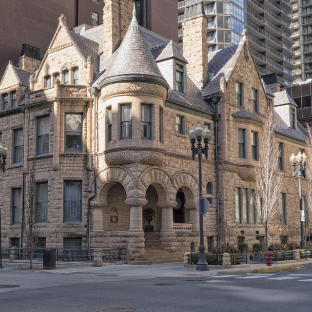 """""""Richard H Driehaus museum Chicago"""" stock image"""